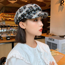 DYLAOPAN Pure Wool Beret Hat Women Felt Beret British Style Fashion Girls Beret Hat Lady Solid Color Slouchy Winter Hats Female