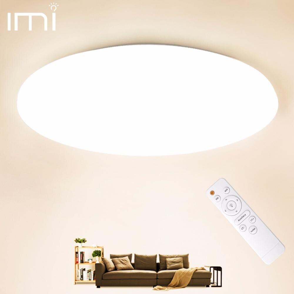LED Ceiling Light Lighting Fixture Modern Lamp Living Room Bedroom Kitchen Bathroom Surface Mount Remote Control