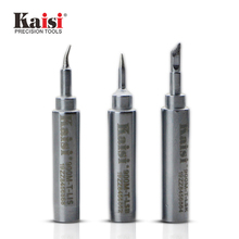 Kaisi T-LSB T-LSK T-LIS Welding Tool Lead-Free Solder Iron Head Tips Replacement Soldering Bit