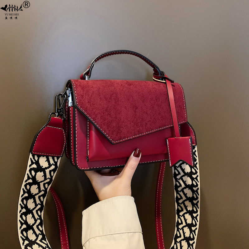 High Quality Frosted PU Leather Crossbody Bag Bags for Women 2020 New Fashion Ladies Mini Shoulder Messenger Bag omen's Handbags