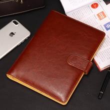 Размер A5/B5, деловая стильная мягкая записная книжка из искусственной кожи, записная книжка, дневник, записная книжка, школьные офисные канцелярские принадлежности