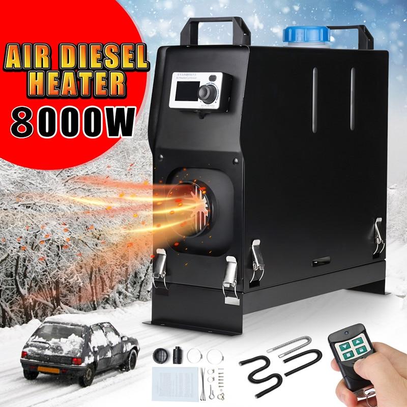 calefator do carro do interruptor da tela lcd do calefator do estacionamento do ar diesel dos