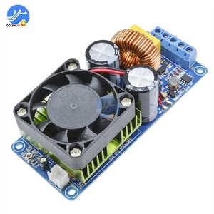 Image 2 - IRS2092S 500W wzmacniacz Mono Board klasy D HIFI wysokiej mocy cyfrowy wzmacniacz 20Hz 20KHz ochrona głośników z wentylatorami