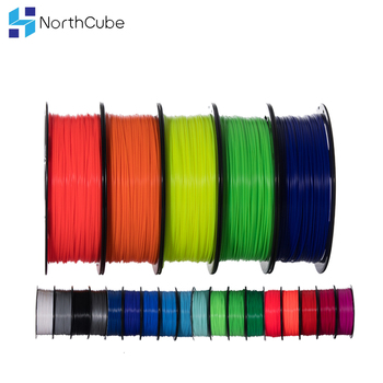 3D Printer Filament PLA/ABS/TPU/PETG/Wood/Marble 1.75mm 1KG Spool 3D Printing Material for 3D Printers and 3D Pens