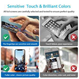 Image 4 - 10 pièces DHL expédition remplacement tactile numériseur assemblée Grade AAA + affichage LCD pour iPhone 5 5S 6 6S 7 8 Plus écran
