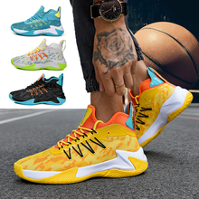Sneakers Man Basketball-Shoes Trend Male Men Culture Breathable High