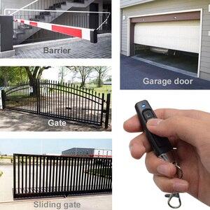 Image 4 - 433.92MHz uzaktan kumandalı garaj kapısı açacağı anahtar teksir klon klonlama kodu anahtarlık bariyer kapı kontrolü için 433MHz
