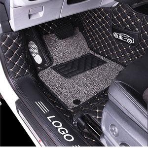 Image 1 - الكلمة حصيرة غطاء كامل السجاد لجيلي أطلس جيلي السيارات emgrand X7 1 مجموعة