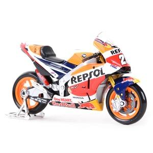 Image 2 - Maisto 1:18 2018 GP Racing Honda RC213V Repsol Honda Team 26# 93# Die Cast Vehicles Collectible Motorcycle Model Toys