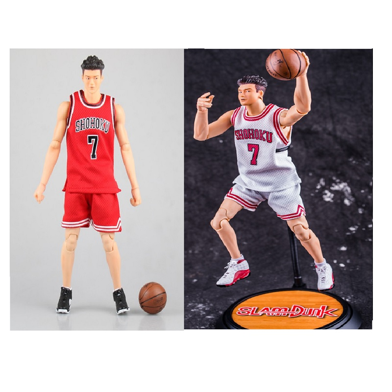2colors Anime Action Figure SLAM DUNK Shohoku 7 Ryota Miyagi Model PVC 1/6 Scale Collection Basketball Player Toy 25cm Brand New image