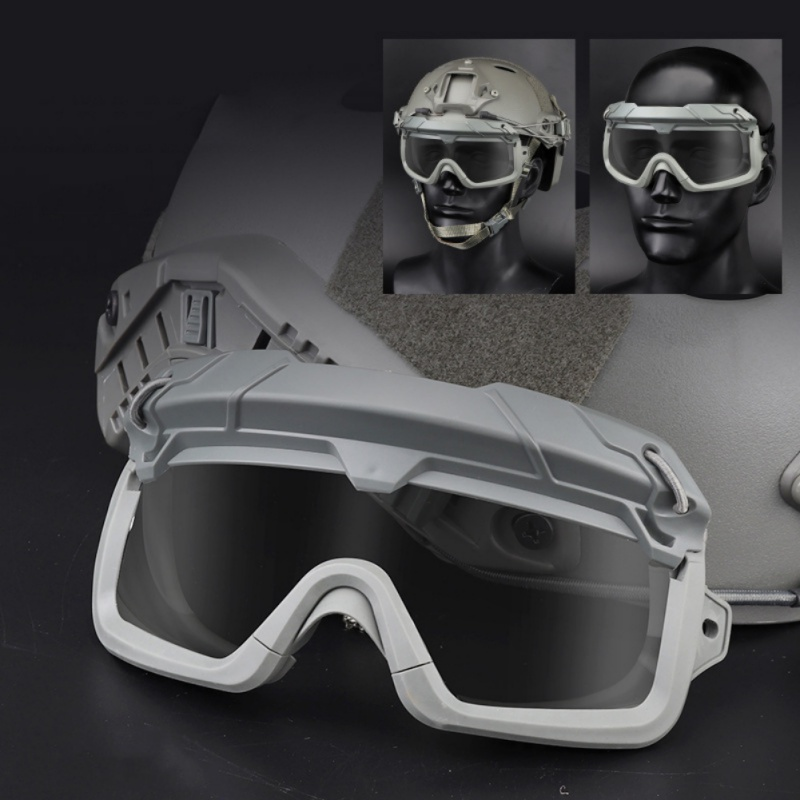 Tactical Military Hunting Goggles Shooting Glasses Motorcycle Windproof Wargame Goggles Helmet Eyewear Paintball Eye Protect