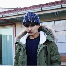 цены New cloth standard tide loose Korean version of autumn and winter hats knitted hats wool hats couples men and women warm hat