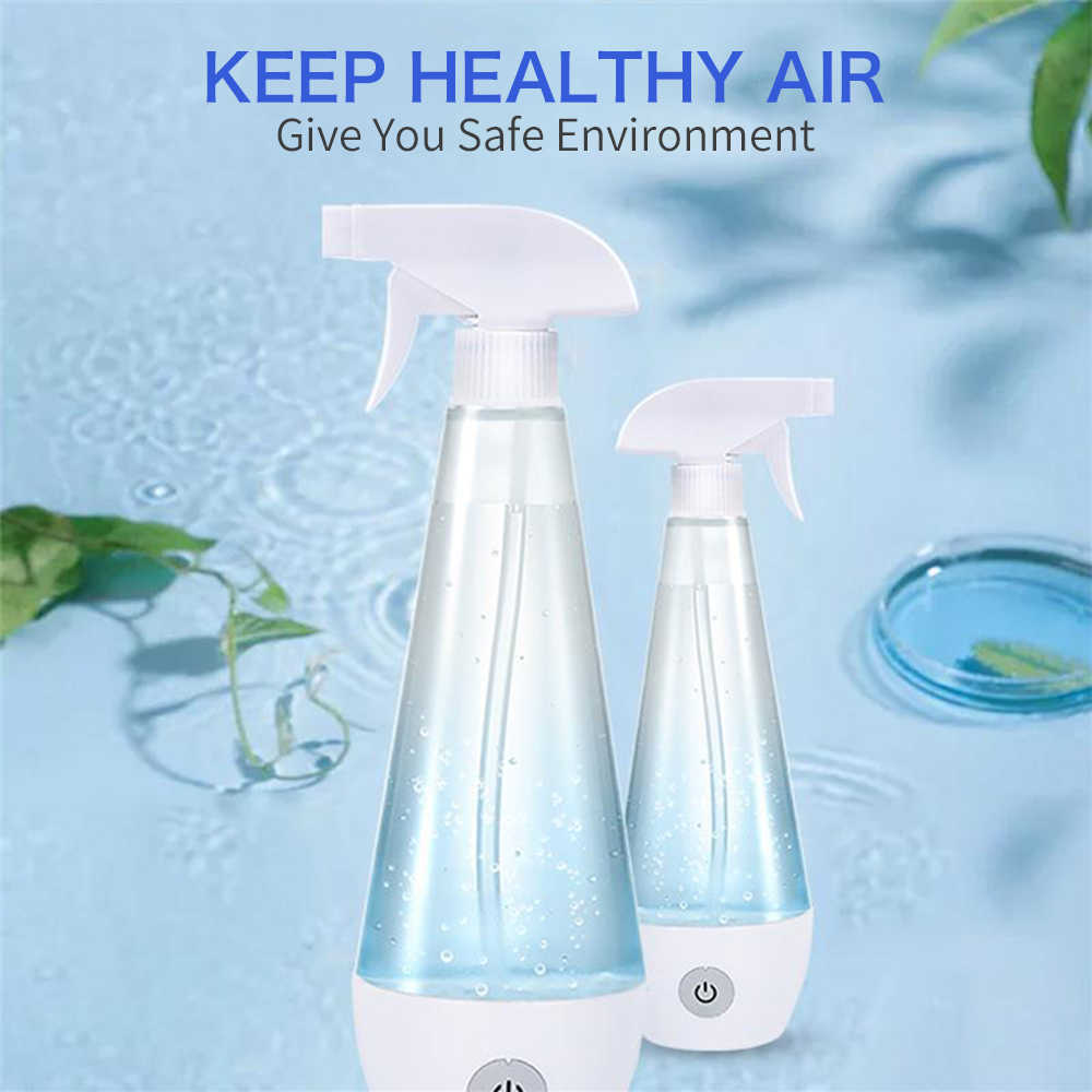 Etc. Carpet Bathroom Sodium Hypochlorite Generator for Home Cleaning Multi-Surface Spraying for Home Kitchen Glass Self-Made Disinfection Water Generator