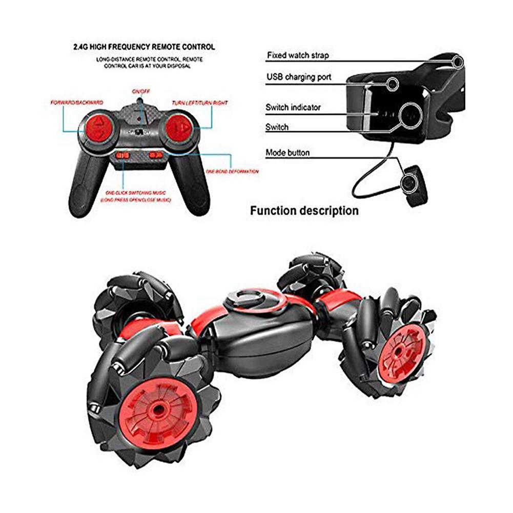HobbyLane пульт дистанционного управления трюк Ca жесты зондирования скручивание вождение автомобиля игрушка Подарки - 4