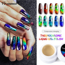 Vrenmol Neon Auroras Thermochromic Liquid Nails Color Changing UV Nail