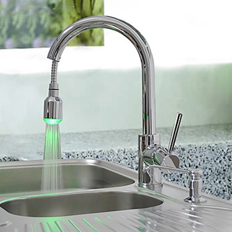 Yi Yu Brand Led Lights Out Hot And Cold Water Basin Smoked Pull Kitchen Dishes Basin