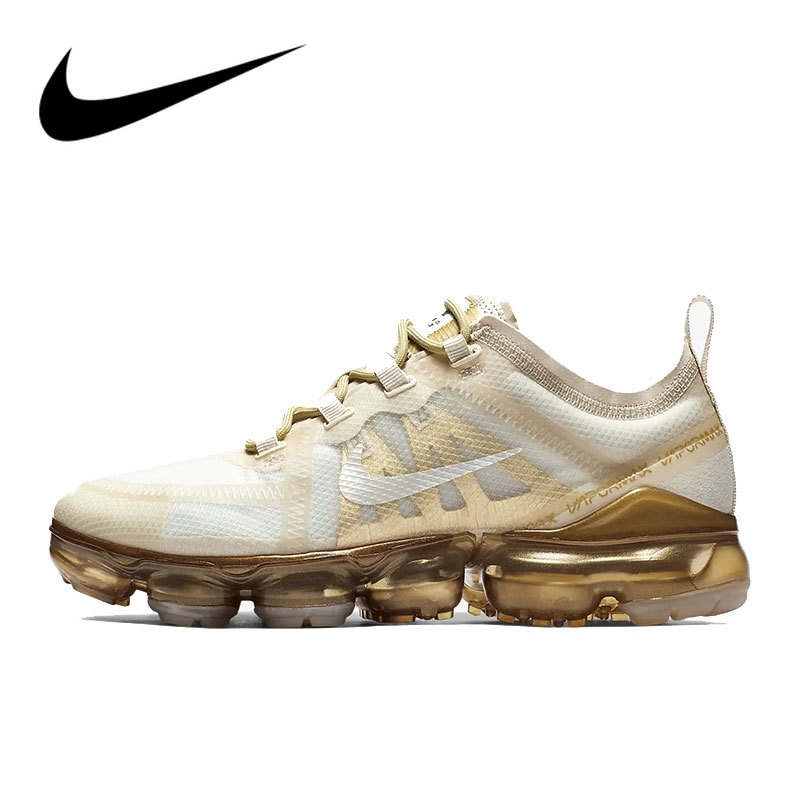 Original Authentic Nike Air VaporMax 2019 Women's Running Shoes Comfortable Sport Outdoor Sneakers 2019 New Arrival AR6632-101
