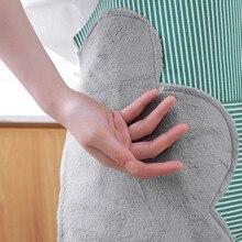 Бытовой Водонепроницаемый фартук для рук, Модный милый фартук для кухни, для взрослых, для приготовления пищи, маслостойкая верхняя одежда