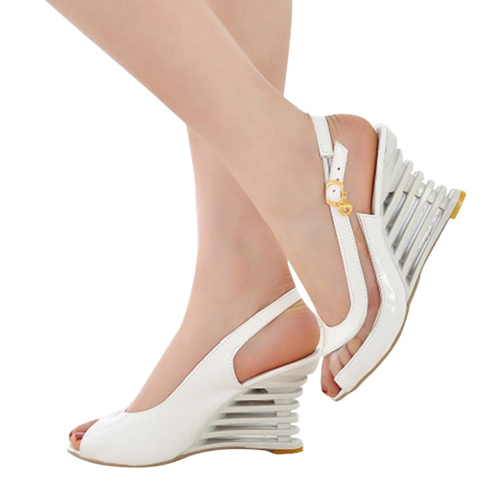 Flat-Buckle-Peep-Toe-Wedges-Comfort-Lightweight-Heel-High-Heel-Wear-resistant-Women-Ssandals-Shoes (4)