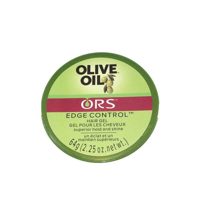Nouvelle cire d'huile d'olive pour Gel de contrôle des bords de coiffure