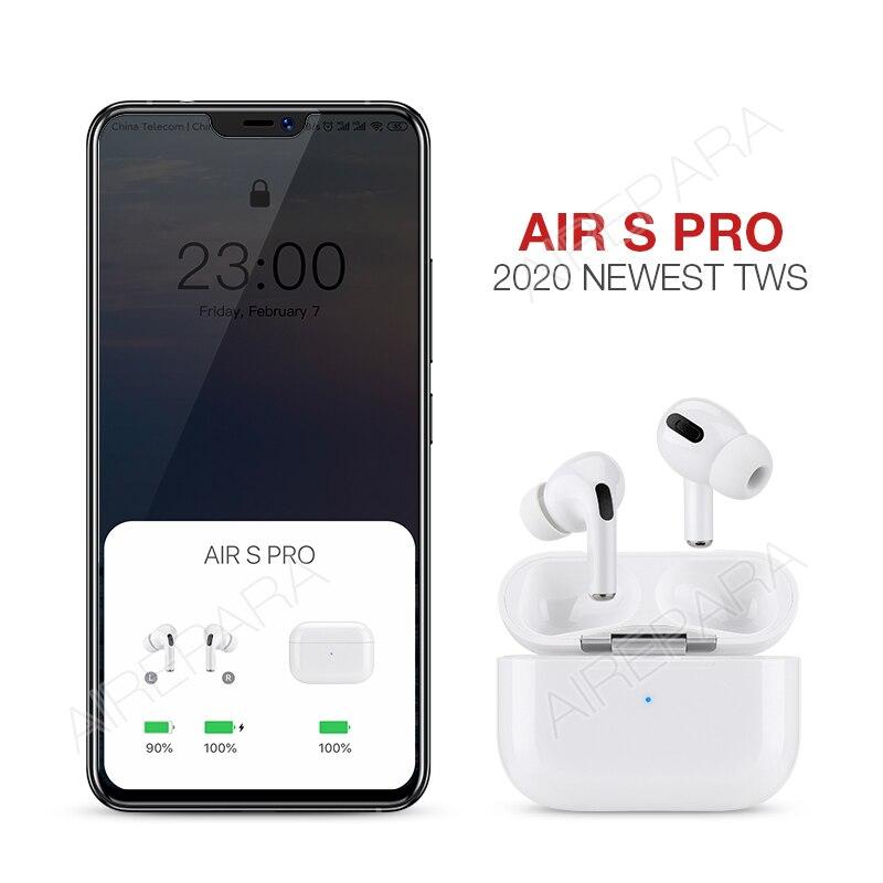 Newest TWS 1:1 air 3 Wireless Headphones Bluetooth Earphone Airpodding Smart Touch Earbuds Headset pk i12 i90000 clone pod pro 2