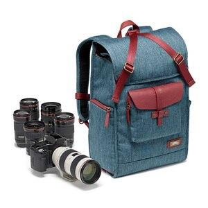 Image 1 - ナショナルジオグラフィック ng AU5350 革カメラバッグバックパック大容量のノートパソコン用キャリーバッグデジタルビデオカメラ旅行バッグ