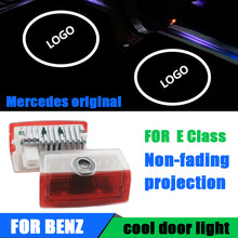 2X For Mercedes Benz E class W212/W213 amg Led Car Door Logo Laser Projector Light styling Logo light Accessories()