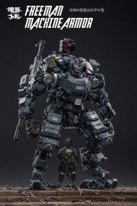 Image 5 - JOYTOY 1:25 figur roboter FSTEEL KNOCHEN MECH Militär modell puppe Mecha Weihnachten präsentieren geschenk Freies verschiffen