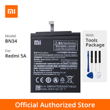 Xiaomi Original Redmi 5A Phone battery Model BN34