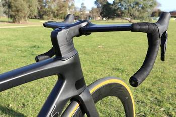 ¡La mejor calidad! Cuadro de bicicleta de carbono S-W, ven con freno...