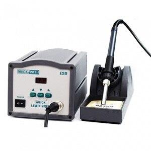Image 1 - Rapide 203H téléphone réparation Station de soudure sans plomb Station de soudage haute fréquence SMD Station de soudage 90W soudage réparation outil