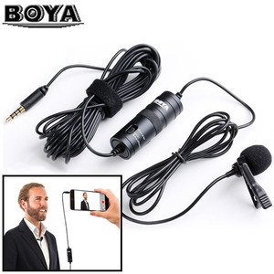 Image 3 - BOYA BY M1 3.5mm Audio Video Record Lavalier Lapel Microphone for iPhone Android Mac Vlog Mic for DSLR Camera Camcorder Reco