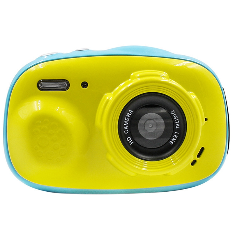 Children Mini Camera HD Screen Rechargeable Camera Waterproof Camera Screen Display Children For Kid Game Study Camera