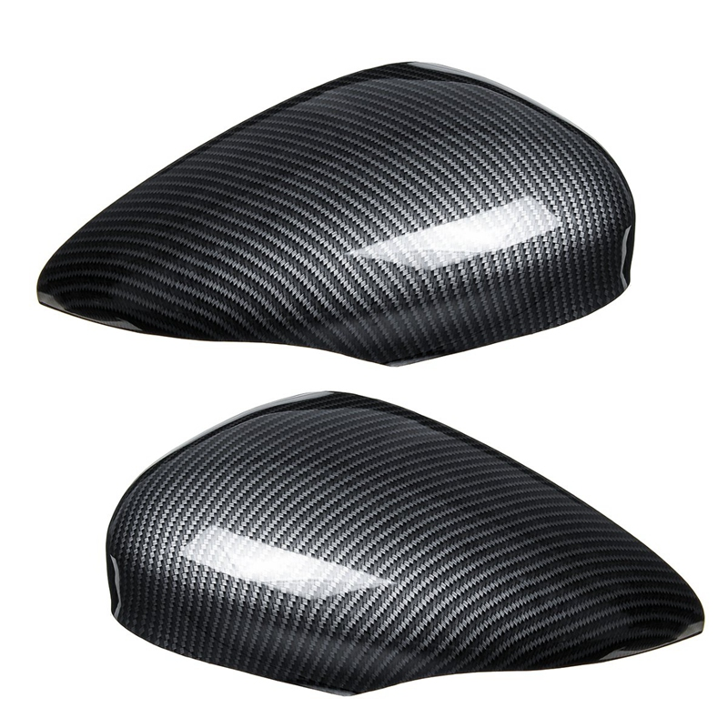 Car Wing Door Carbon Fiber Rear View Mirror Cover Trim Case for Ford for Fiesta Mk7 2008 2009 2010 2011 2012 2013 2014 2015 2016|Styling Mouldings| |  - title=