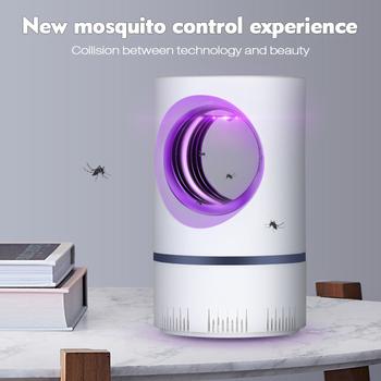 Lampa Led do moskitiery UV lampka nocna z USB do zabijania owadów łapka na owady pułapka na komary latarnia odstraszająca lampa do Dropshipper tanie i dobre opinie Tomshine 10000h