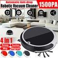 4 в 1 перезаряжаемый робот для автоматической уборки умный подметальный робот для удаления грязи и пыли автоматический очиститель для домаш...