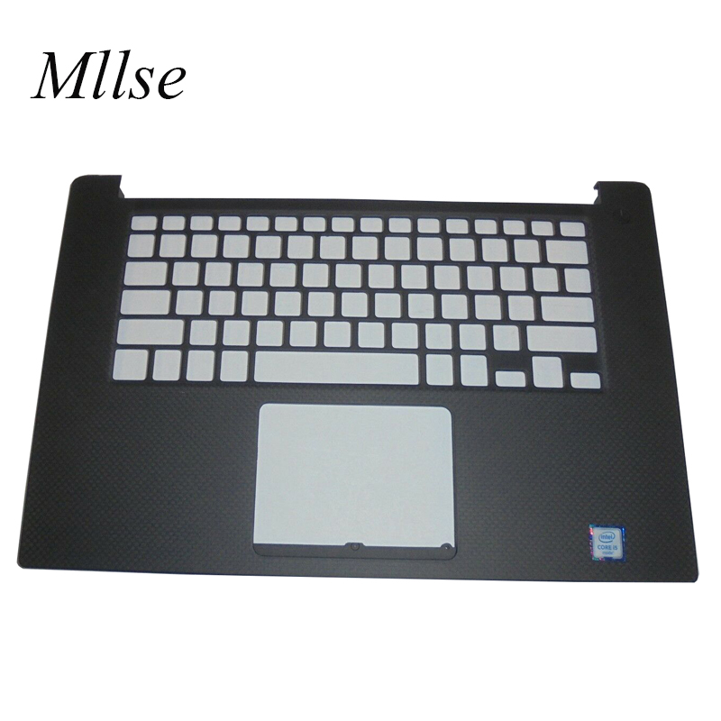 Free Shipping New palmrest For <font><b>DELL</b></font> XPS 15 XPS15 9550 M5510 <font><b>5510</b></font> empty US <font><b>keyboard</b></font> bezel upper cover C cover 0JK1FY image