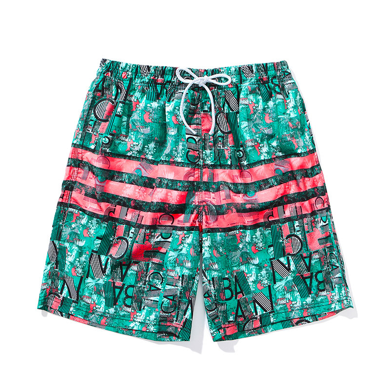 Hot Springs Beach Shorts Men Quick-Dry Loose And Plus-sized Couple Clothes Shorts Shorts Men's Seaside Holiday AussieBum