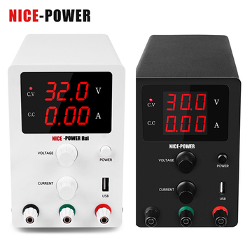 Nice-power DC Laboratory 60V 5A Regulated Adjustable Power Supply 30V 10A Voltage Regulator Stabilizer Switching Bench Source image