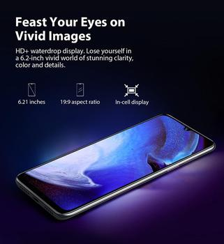 """Blackview A80 Quad Rear Camera Android 10 Phone 6.2"""" Waterdrop Screen 2GB+16GB MTK6737 Quad Core 4G Mobile Phone 4200mAh Battery 6"""