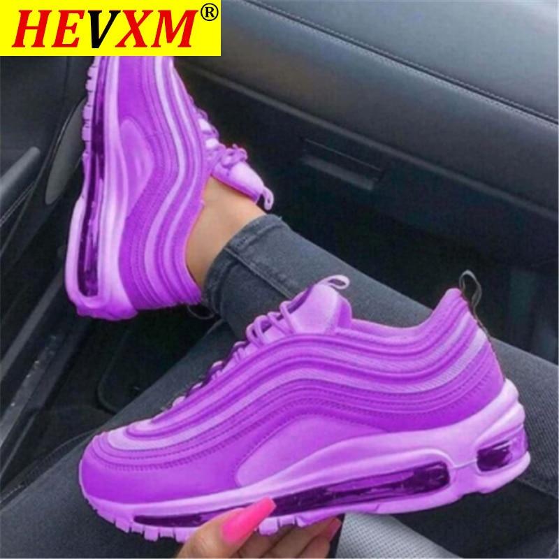 Новинка, женские дышащие кроссовки, 2020, женская обувь на шнуровке, Вулканизированная Женская Удобная Повседневная Женская обувь на плоской подошве, Женская теннисная обувь размера плюс