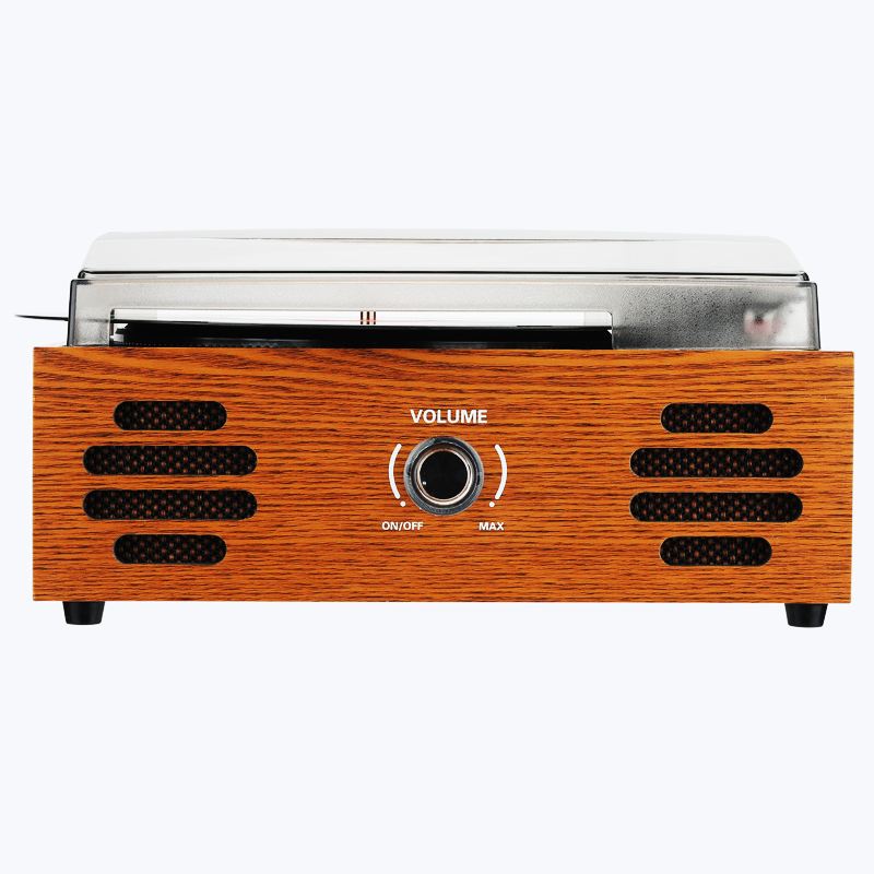 Stereo Turntable Vinyl Record Player with Speakers Bluetooth Remote