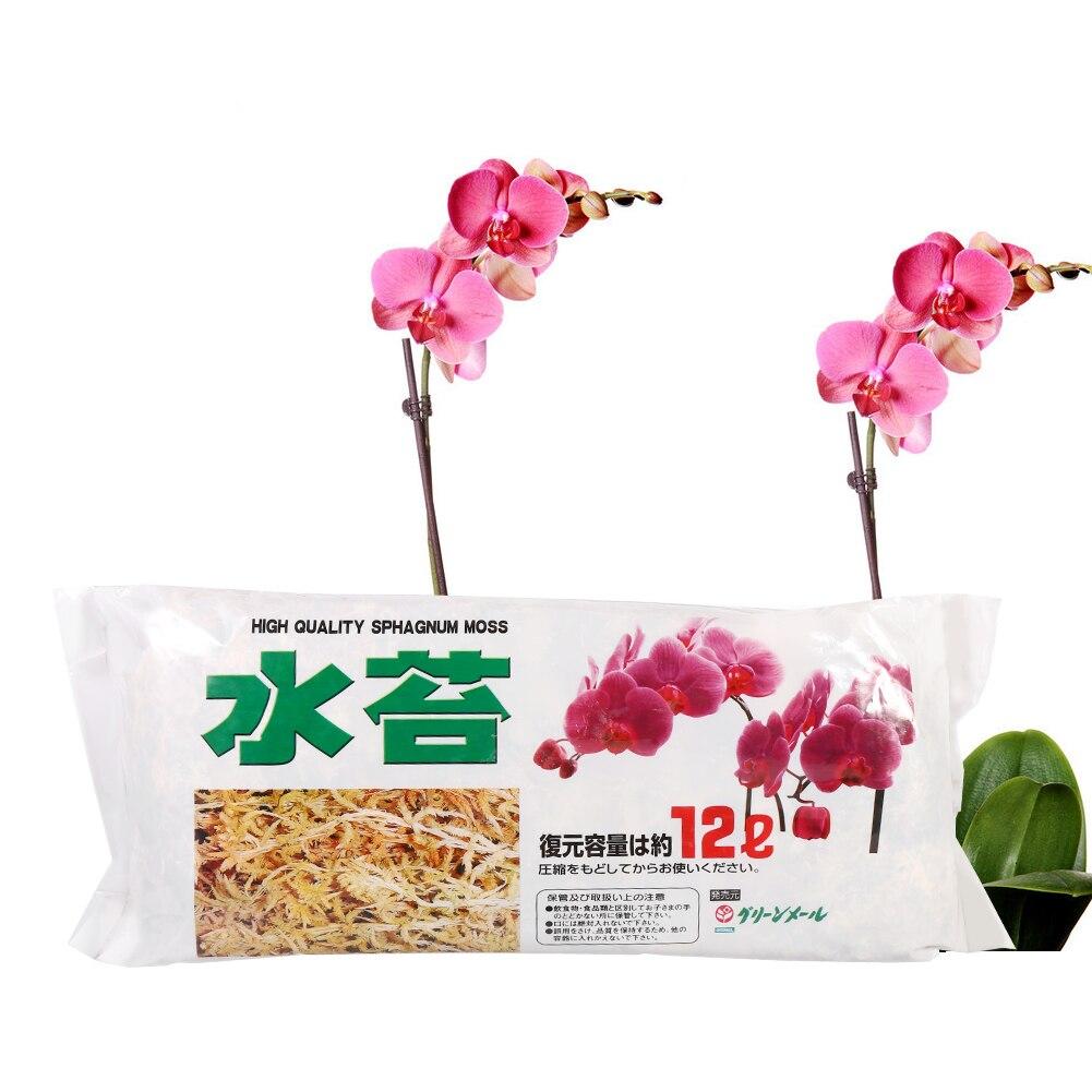 Высококачественные многофункциональные Садовые принадлежности Sphagnum Moss, увлажняющее питание, органическое удобрение для орхидеи фаленопс...