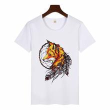 Harajuku размера плюс эстетическое Футболка camiseta mujer лошадь
