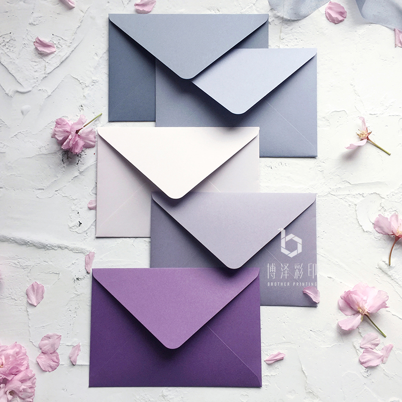 20pcs/lot High Quality Envelope Creative Stationery Japanese Robe Paper Craft Thicken Envelopes For Wedding Letter Invitation