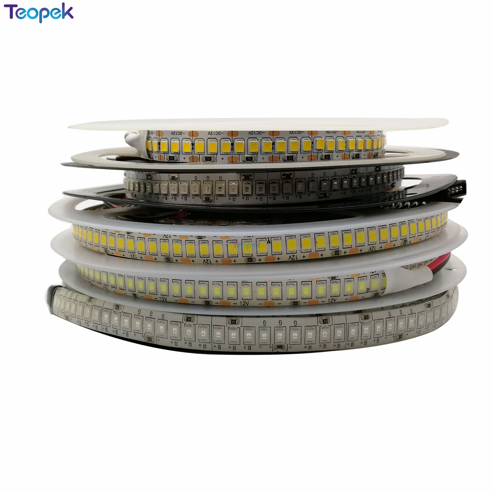 LED Strip 2835 240LEDs/m DC12V High Brightness Flexible LED Tape Light Natural White / Warm White / White /RGB 5m/lot