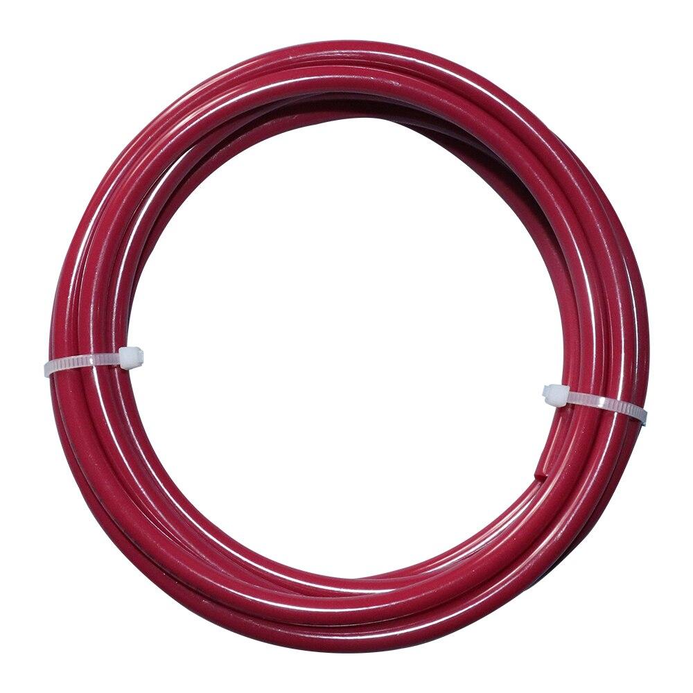 Купить с кэшбэком 1/4 inch 4 Pcs Total Length 5 Meter food grade water tube PE Pipe  pipe  filter