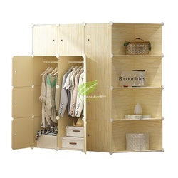 Meble do sypialni przechowywanie/szafka z tworzywa sztucznego szafa szafa stalowy szkielet dzieci/włóknina szafa montaż prosty i łatwy