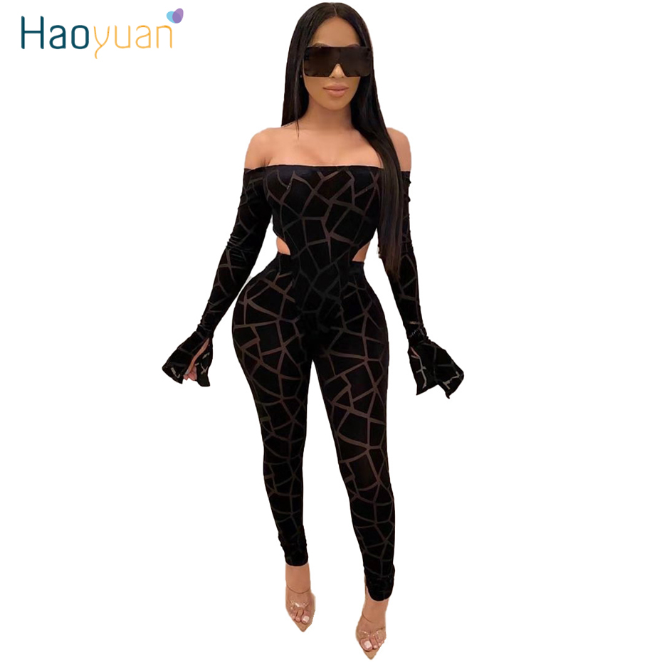 ZOOEFFBB Mesh Plaid Two Piece Set Women Festival Clothing Long Sleeve Bodysuit And Pant 2 Piece Matching Suit Sexy Club Outfits