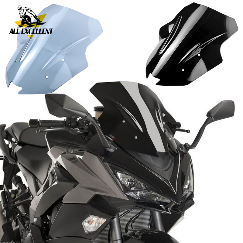 For <font><b>Kawasaki</b></font> Ninja 1000 <font><b>Z1000SX</b></font> 2017 2018 <font><b>2019</b></font> Windshield wind deflector Ninja1000 Motorcycle Accessories WindScreen Visor Viser image